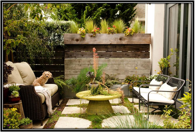Country Side Patio Outdoor Decoration Ideas