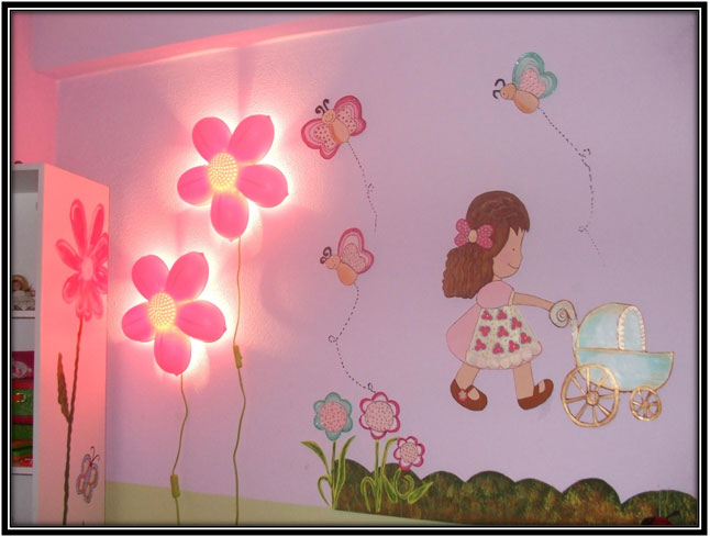 Wall Paintings For The Kids - Home Decor Ideas