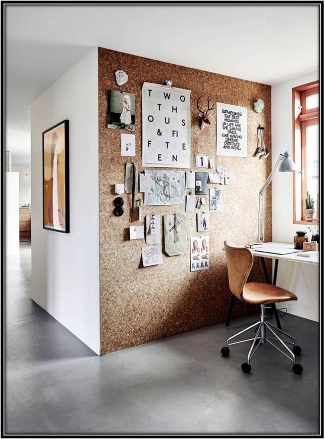 Cork Board Wall 2017 Home Decor Trends