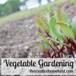 Vegetable Gardening Basics: Homestead Blog Hop #24