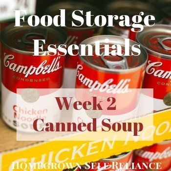 Canned Soup - Food Storage Essentials