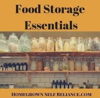 Food Storage Essentials