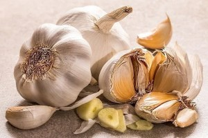 Garlic as an old home remedy