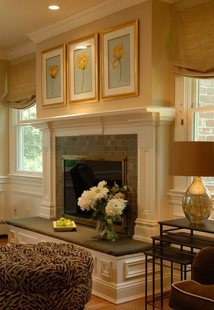 brick wall fireplace ideas 9