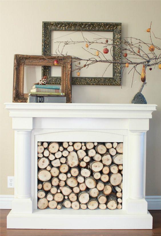 decorative fireplace ideas 13