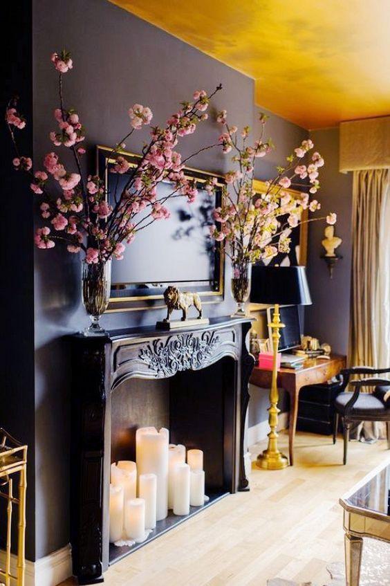 decorative fireplace ideas 6