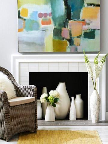 decorative fireplace ideas 7