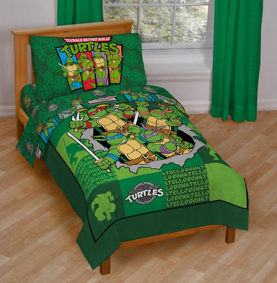 ninja turtle room ideas 4