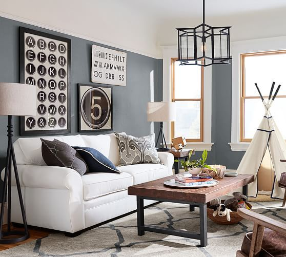 For The Children Pottery Barn Living Room Idea. ...