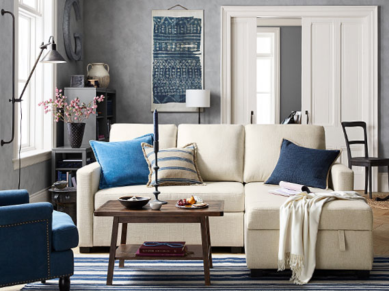 Modern Pottery Barn Living Room Ideas Style