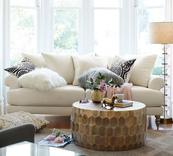 Pottery Barn Living Room Idea Of Chicness. ...