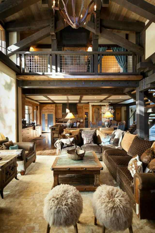 rustic ideas for living room 2