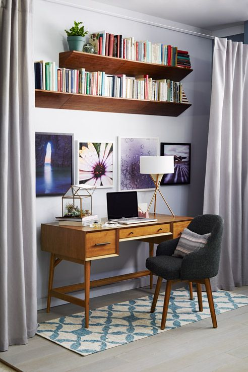 Wonderful Bookshelf Ideas Part - 13: ... Bookshelf Ideas For Small Rooms 2