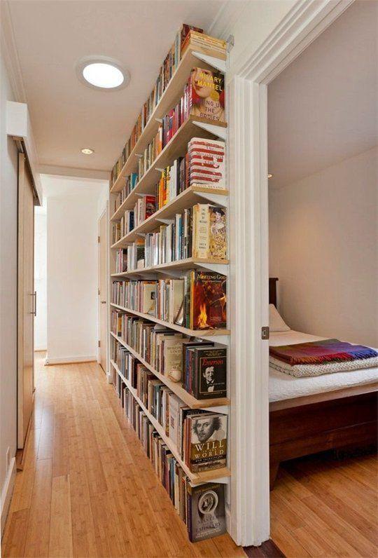 san francisco e83d1 ec4e5 13 Brilliant Bookshelf Ideas for Small Room Solutions - Home ...