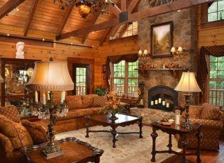 cobblestone fireplace ideas 4