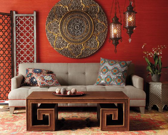 Living Room Designs Indian Style 4