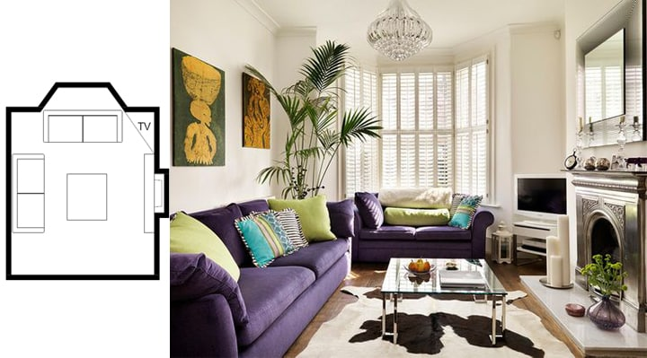 Amazing Small Living Room Layouts with TV to Inspire You & Incredible Small Living Room Designs that will Impress You - Home ...