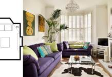 small living room layouts with TV 12