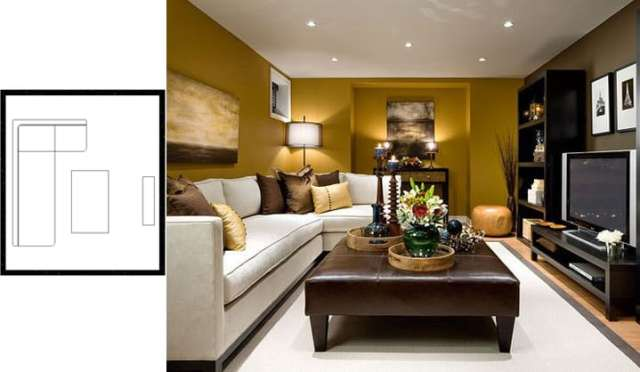 small living room layouts with TV 2