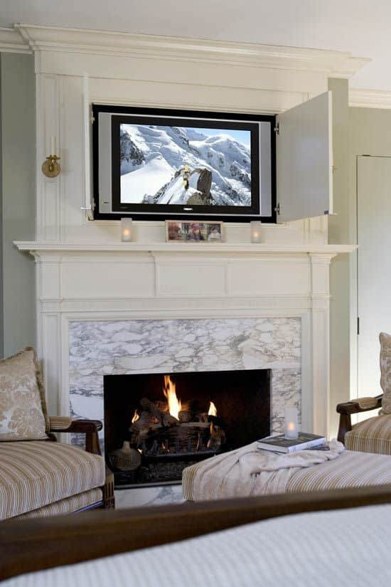 12 Incredible Solutions For Tv Over Fireplace Ideas Home