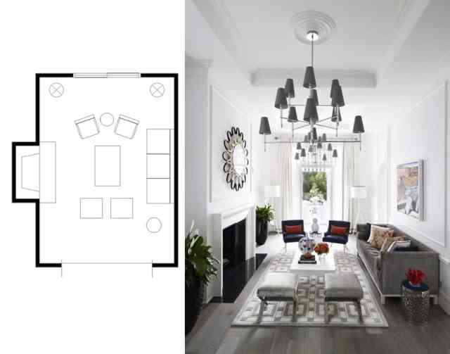 narrow living room layouts 2