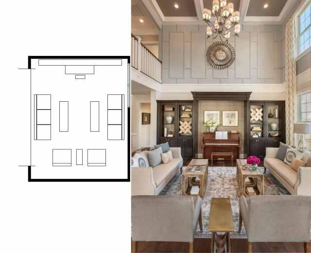 narrow living room layouts 4