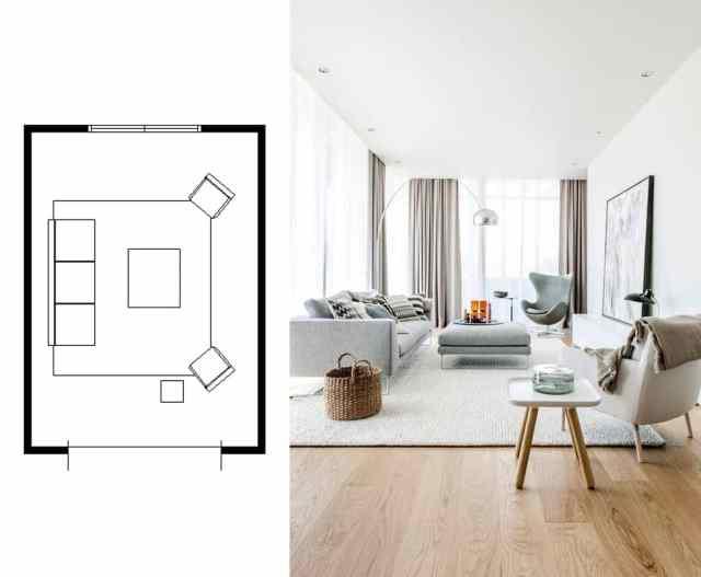narrow living room layouts 5