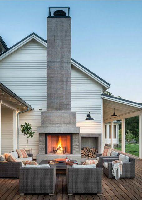 outdoor fireplace ideas 1.b.i