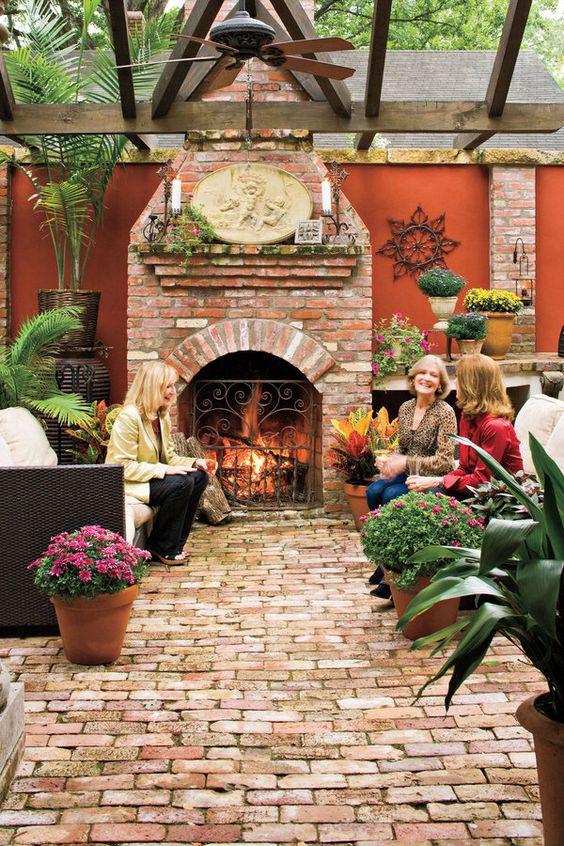 Outdoor Fireplace Ideas Part - 18: Outdoor Fireplace Ideas 2.c