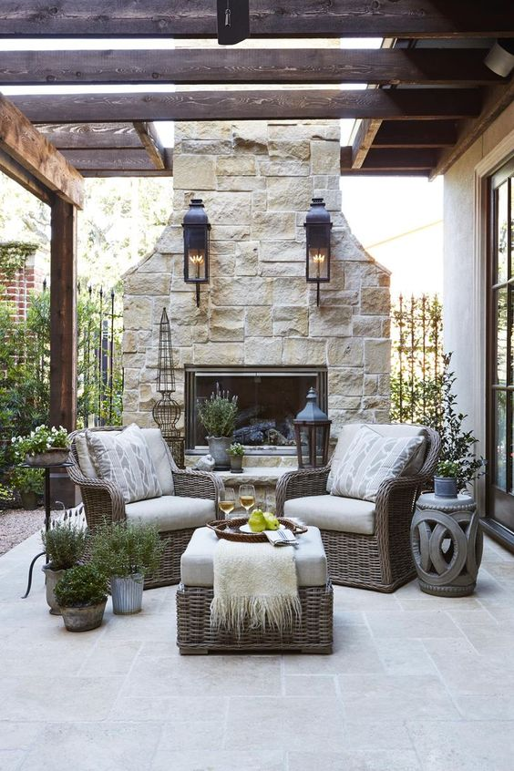 outdoor fireplace ideas 2.f
