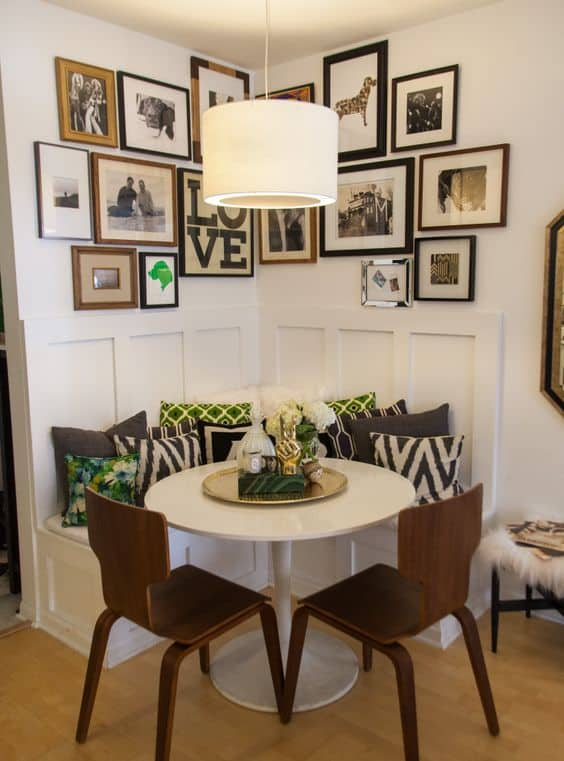 Make Use Of Small Dining Room Corner Spaces
