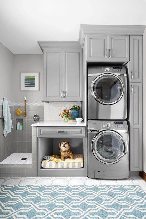 small laundry room ideas 1.e
