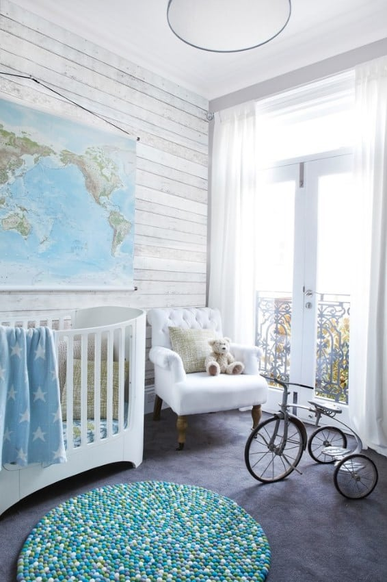 Rustic Concepts For Baby Boy Room Ideas