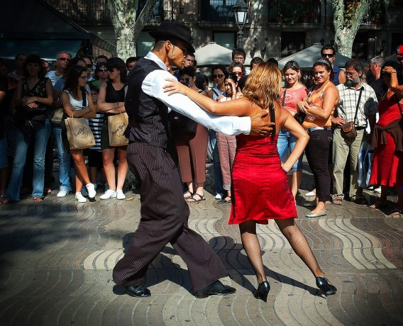 Street Tango Ramblas