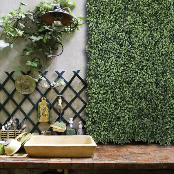 Artificial Outdoor Boxwood Screen At