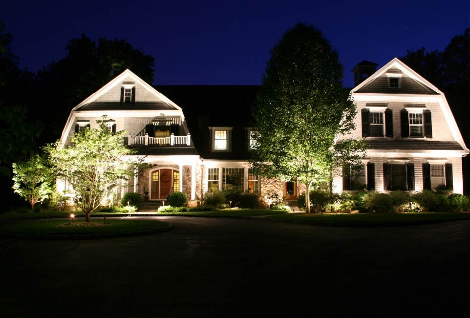 Preferred Properties Landscaping Michael Gotowala House Outdoor Lighting