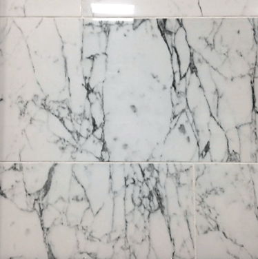 venato blanco polished porcelain wall and floor tile 12 x 24 in