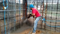 First shotcrete