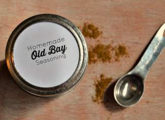 Homemade Old Bay Seasoning Recipe