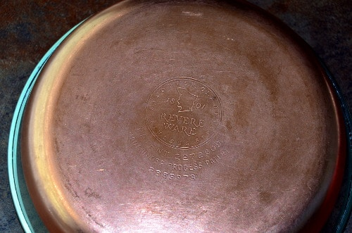 Same skillet after a little bit of Bar Keepers friend, and some elbow grease