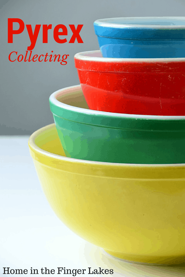 Helpful hints and tips for collecting vintage Pyrex & the history of Pyrex in the Finger Lakes.