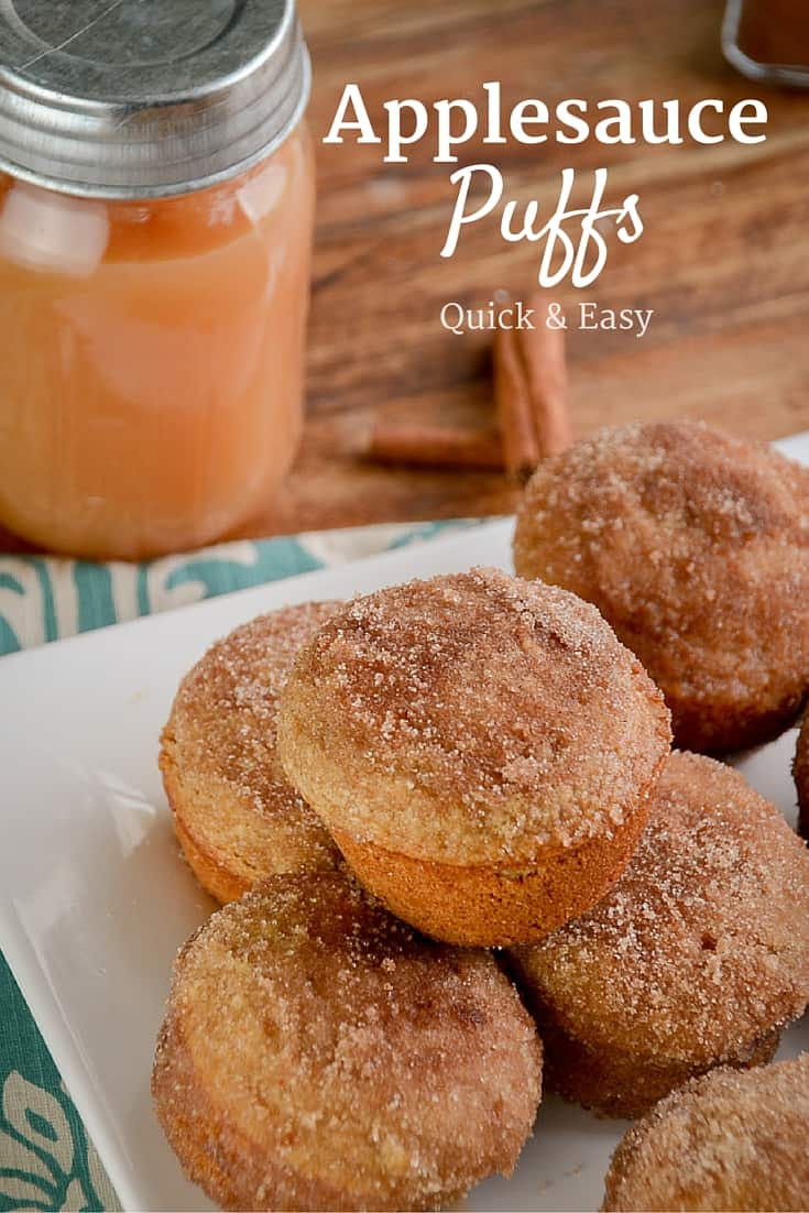 These quick and easy muffins taste like a donut, they are especially delicious warm.
