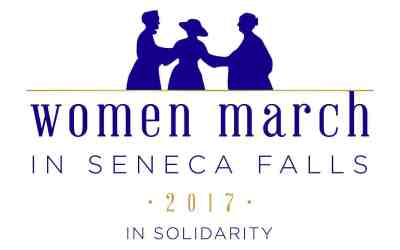 Women March in Seneca Falls 2017