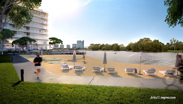 Waterbank Precinct_EA08_Beach