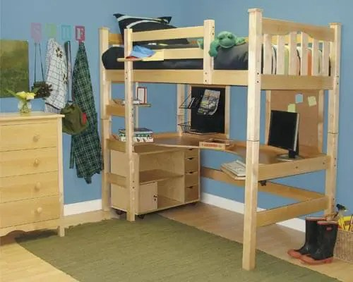 build your own loft bed  plans