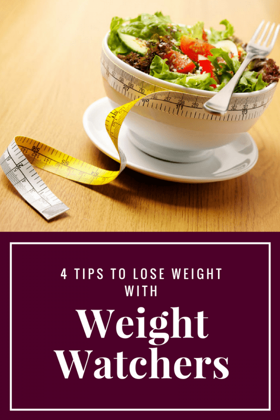 4 Tips to Lose Weight With Weight Watchers
