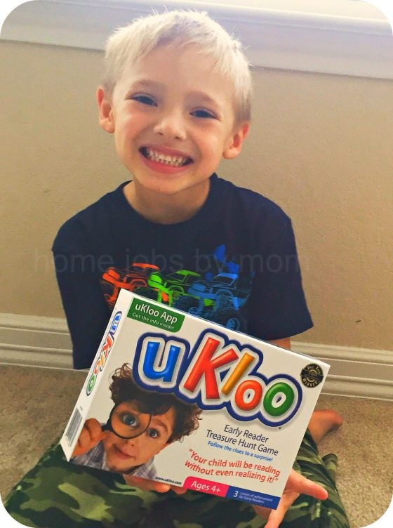 UKloo Early Reader Treasure Hunt Game Review