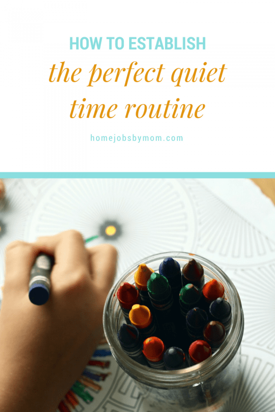 How To Establish The Perfect Quiet Time Routine