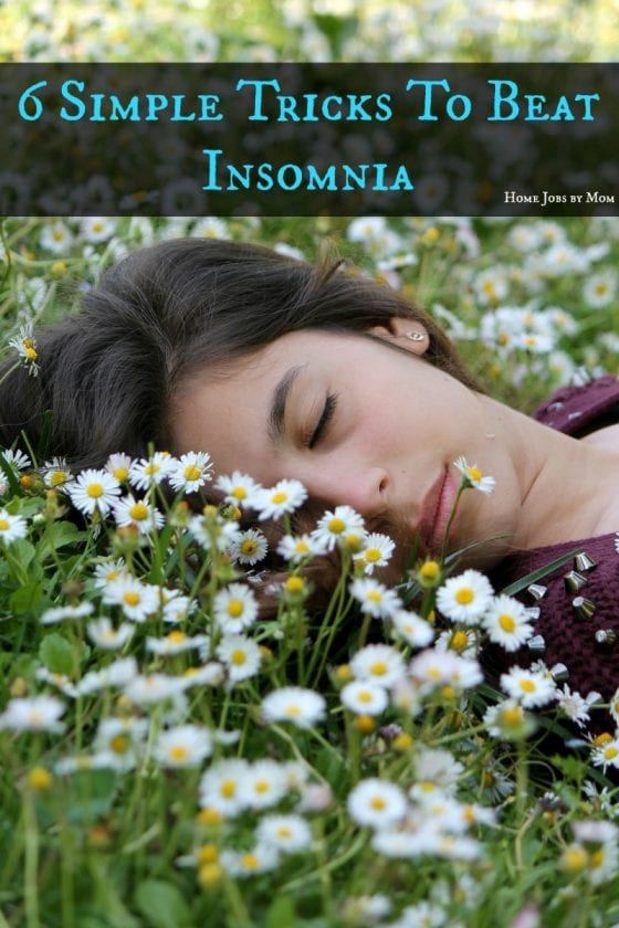 6 Simple Tricks To Beat Insomnia