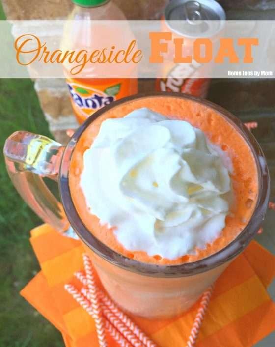 Orangesicle Float Recipe